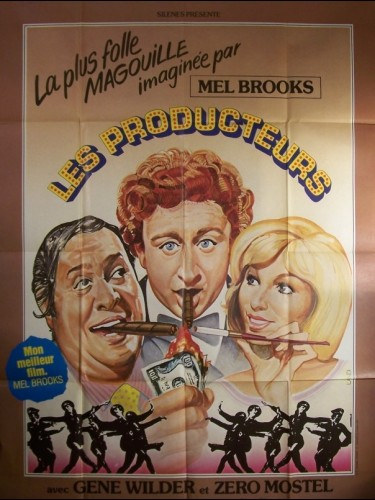 Affiche du film PRODUCTEURS (LES) - THE PRODUCERS