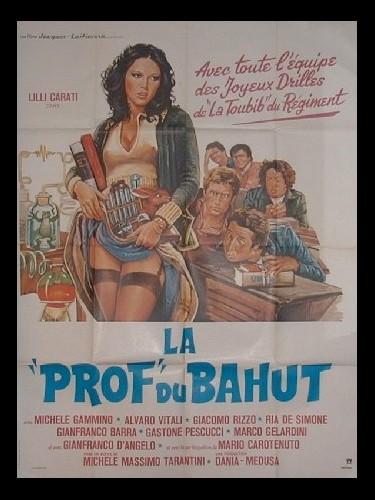 Affiche du film PROF DU BAHUT (LA)