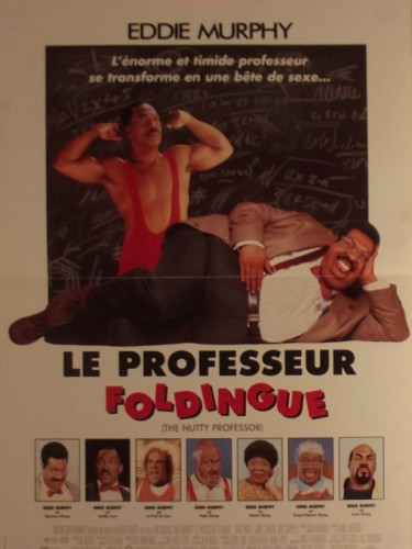 Affiche du film PROFESSEUR FOLDINGUE (LE) - THE NUTTY PROFESSOR