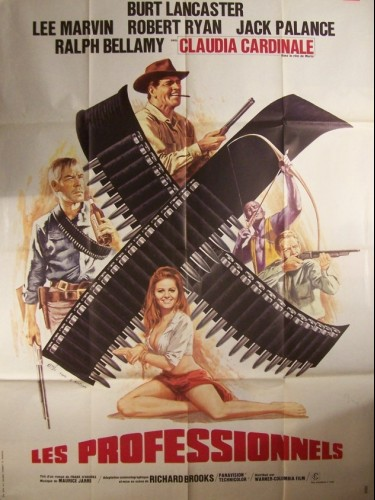 Affiche du film PROFESSIONNELS (LES) - THE PROFESSIONALS