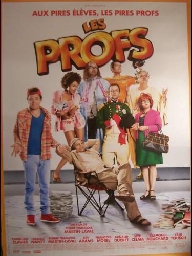 Affiche du film PROFS (LES) (AFFICHE ROULÉE)