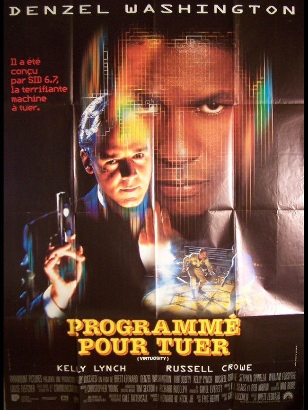 Affiche du film PROGRAMME POUR TUER - VIRTUOSITY