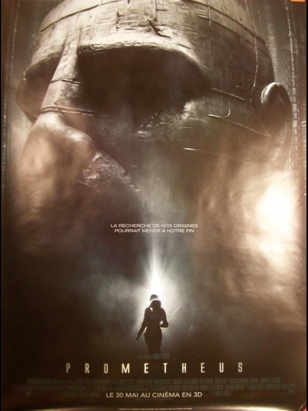 Affiche du film PROMETHEUS (AFFICHE ROULÉE)