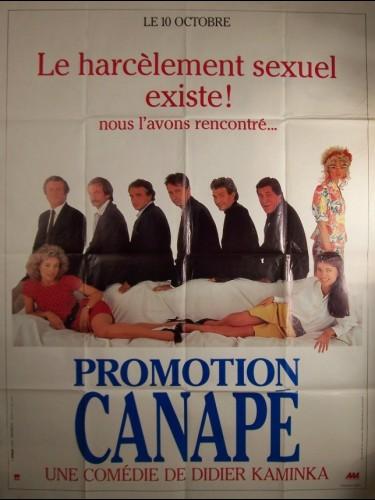 Affiche du film PROMOTION CANAPE