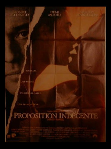 Affiche du film PROPOSITION INDECENTE
