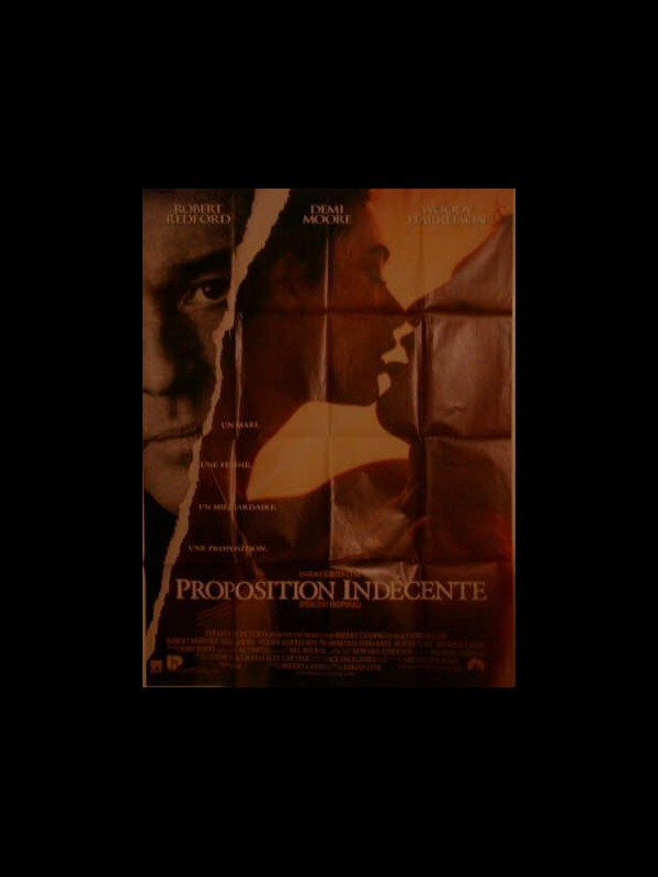 Affiche du film PROPOSITION INDECENTE