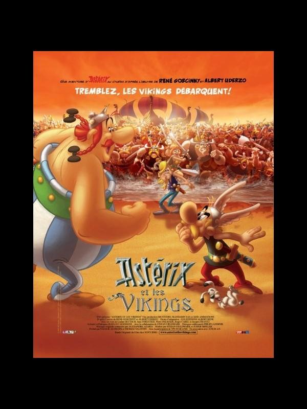 Affiche du film ASTERIX ET LES VIKINGS