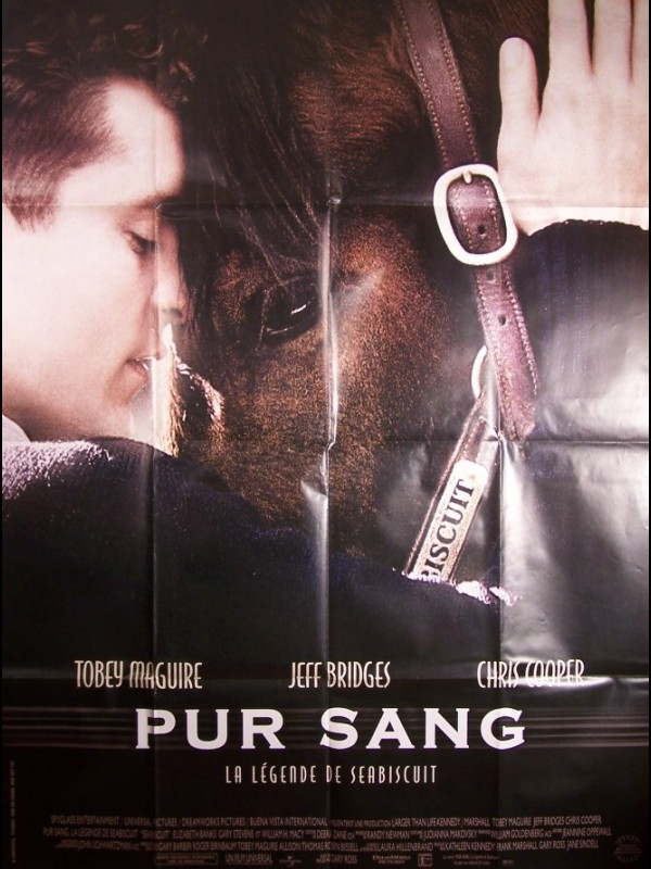Affiche du film PUR SANG -LA LEGENDE DE SEABISCUIT- - SEABISCUIT