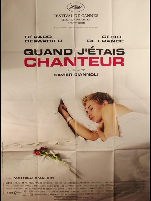 Affiche du film QUAND J'ETAIS CHANTEUR