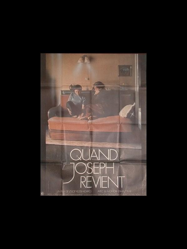 Affiche du film QUAND JOSEPH REVIENT