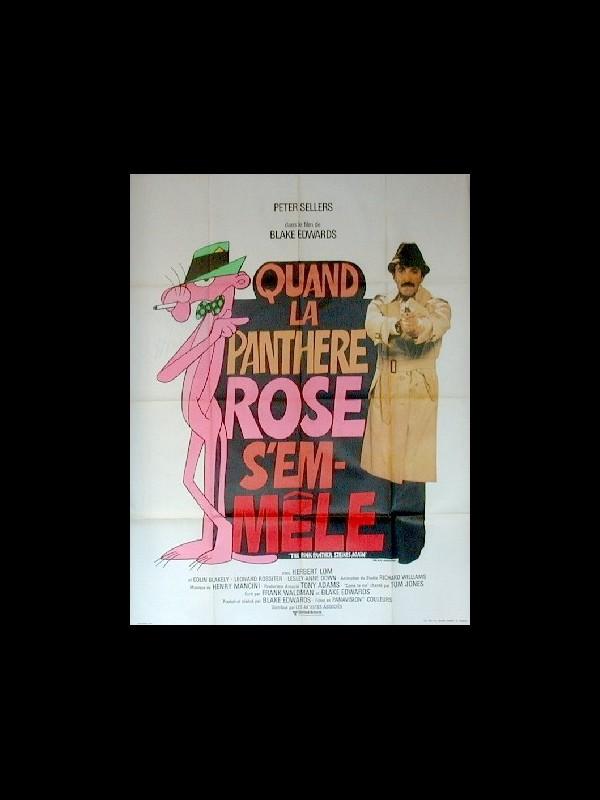 Affiche du film QUAND LA PANTHERE ROSE S'EN MELE