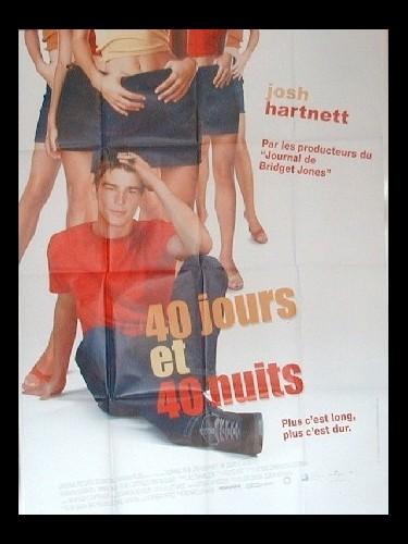 Affiche du film QUARANTE JOURS ET QUARANTE NUITS
