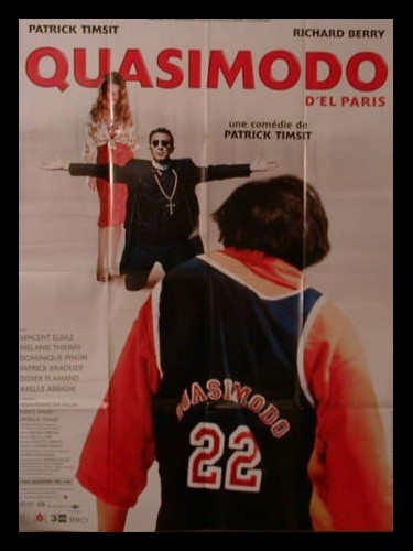Affiche du film QUASIMODO D'EL PARIS