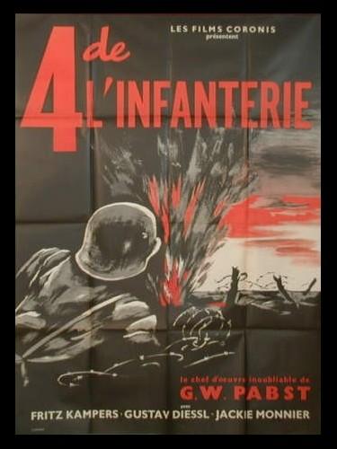 Affiche du film QUATRE DE L'INFANTERIE