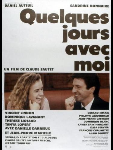 Affiche du film QUELQUES JOURS AVEC MOI
