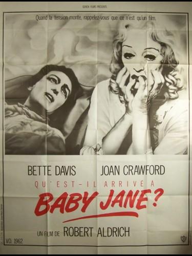 Affiche du film QU'EST T-IL ARRIVE A BABY JANE