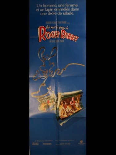 Affiche du film QUI VEUT LA PEAU DE ROGER RABBIT - WHO FRAMED ROGER RABBIT ?