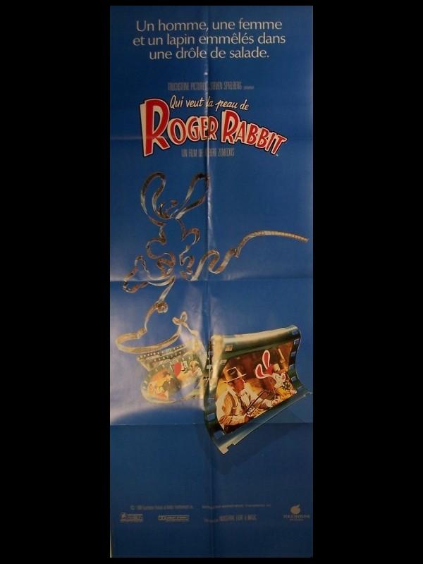 Affiche du film QUI VEUT LA PEAU DE ROGER RABBIT - WHO FRAMED ROGER RABBIT ?