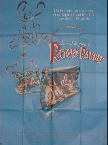 Affiche du film QUI VEUT LA PEAU DE ROGER RABBIT ? - WHO FRAMED ROGER RABBIT ?