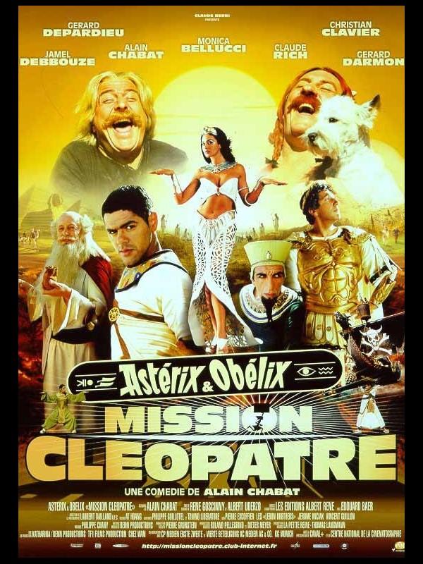 Affiche du film ASTERIX ET OBELIX : MISSION CLEOPATRE 2