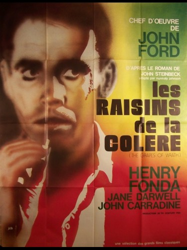 Affiche du film RAISINS DE LA COLERE (LES) - THE GRAPES OF WRATH