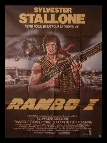 Affiche du film RAMBO - FIRST BLOOD