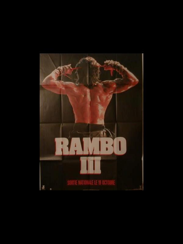Affiche du film RAMBO 3 (PREVENTIVE ) - RAMBO 3