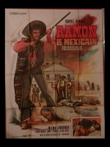 Affiche du film RAMON LE MEXICAIN