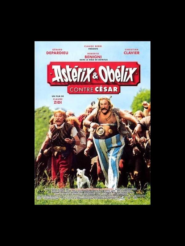 Affiche du film ASTERIX ET OBELIX CONTRE CESAR