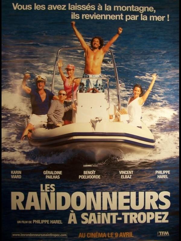 Affiche du film RANDONNEURS A SAINT TROPEZ (LES)