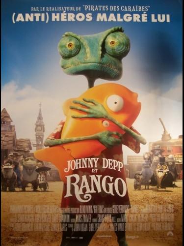 Affiche du film RANGO-B - GORE VERBINSKI