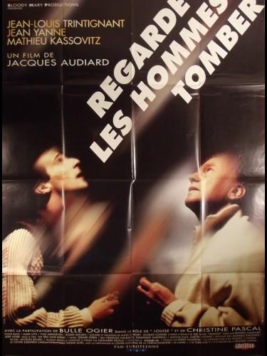 Affiche du film REGARDE LES HOMMES TOMBER