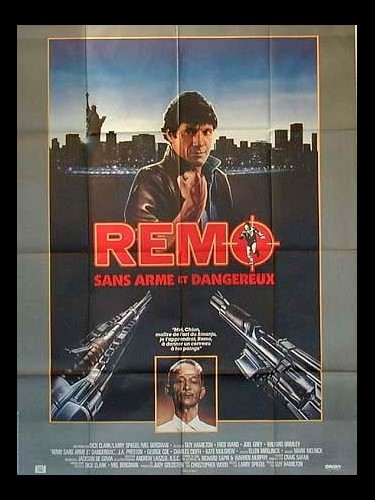 Affiche du film REMO-SANS ARME ET DANGEREUX- - REMO WILLIAMS: THE ADVENTURE BEGINS