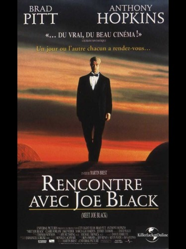 Affiche du film RENCONTRE AVEC JOE BLACK - MEET JOE BLACK