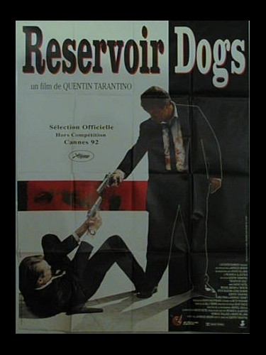 Affiche du film RESERVOIR DOG