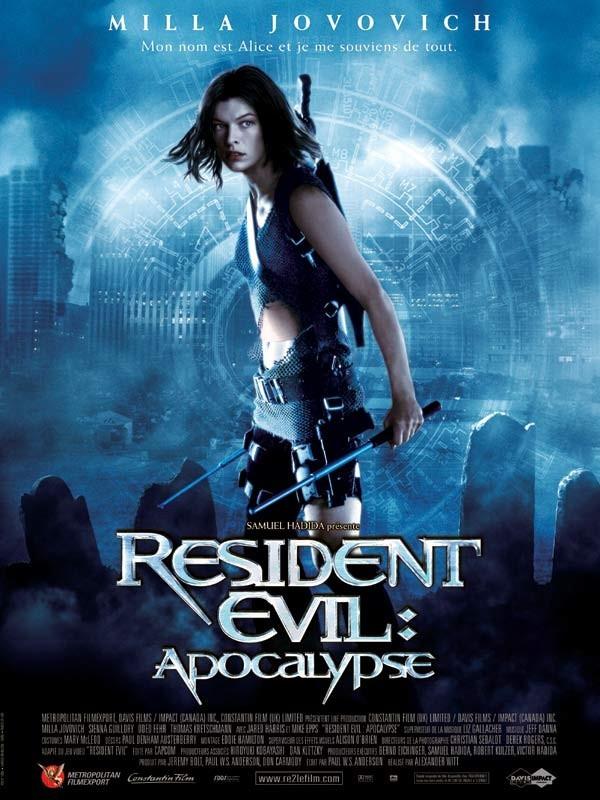 Affiche du film RESIDENT EVIL : APOCALYPSE 2