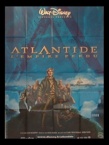 Affiche du film ATLANTIDE L'EMPIRE PERDU - THE LOST EMPIRE