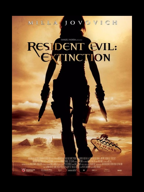 Affiche du film RESIDENT EVIL : EXTINCTION