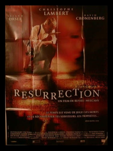 Affiche du film RESURRECTION