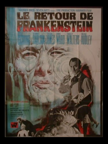 RETOUR DE FRANKENSTEIN (LE) - FRANKENSTEIN MUST BE DESTROYED