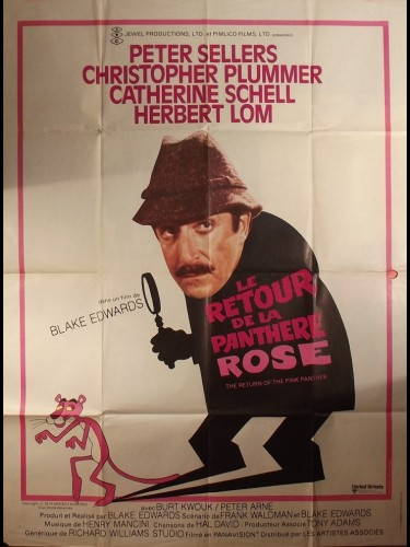 Affiche du film RETOUR DE LA PANTHERE ROSE (LE) - THE RETURN OF THE PINK PANTHER