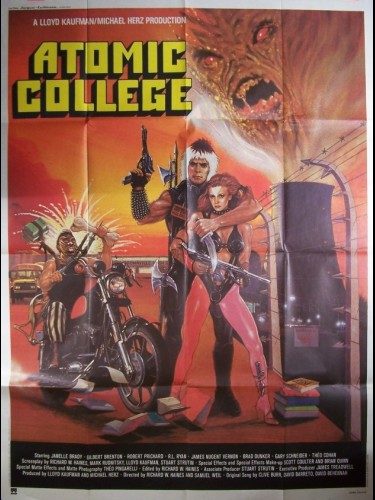 Affiche du film ATOMIC COLLEGE