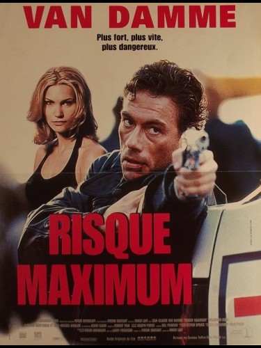 Affiche du film RISQUE MAXIMUM - MAXIMUM RISK