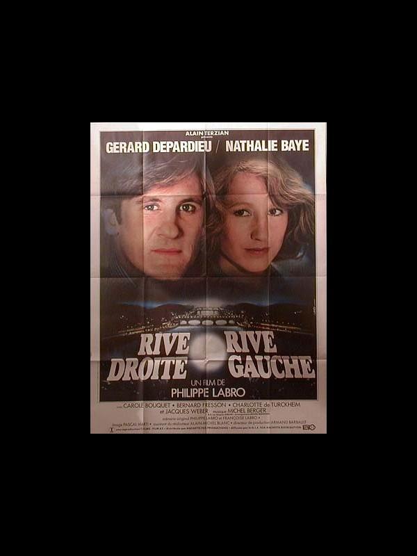 Affiche du film RIVE DROITE RIVE GAUCHE