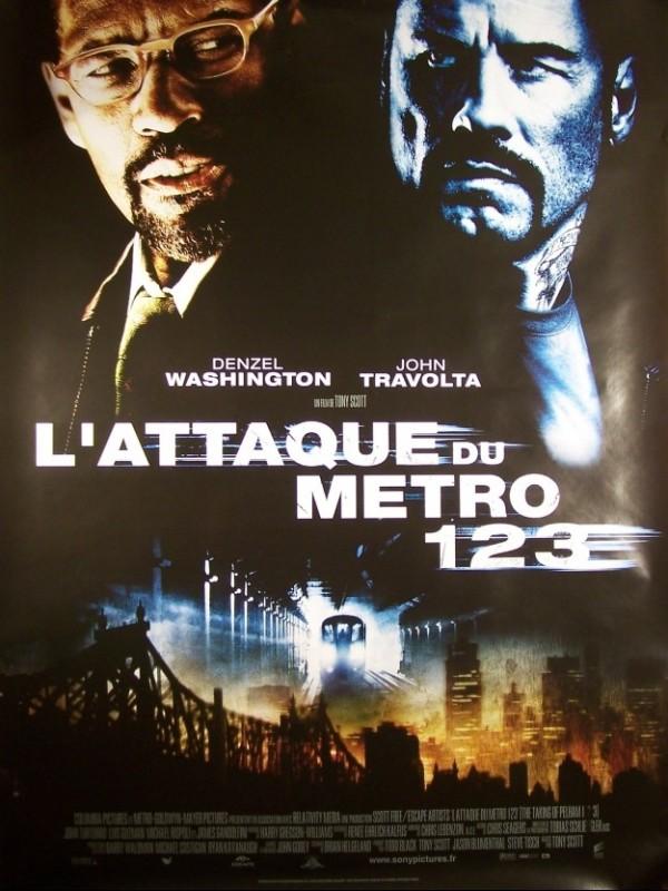 Affiche du film ATTAQUE DU METRO 123 (L') - THE TAKING OF PELHAM 1 2 3
