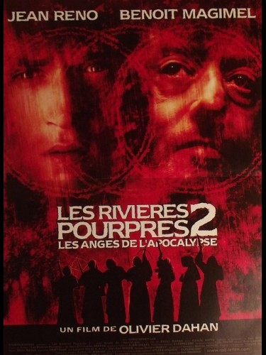 Affiche du film RIVIERES POURPRES 2 (LES) - CRIMSON RIVERS 2: ANGELS OF THE APOCALYPSE