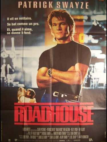 Affiche du film ROAD HOUSE