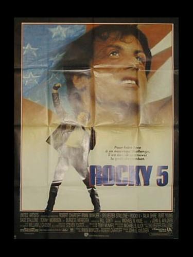Affiche du film ROCKY 5