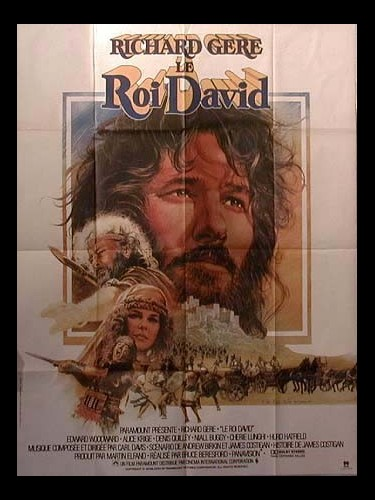 Affiche du film ROI DAVID (LE) - KING DAVID