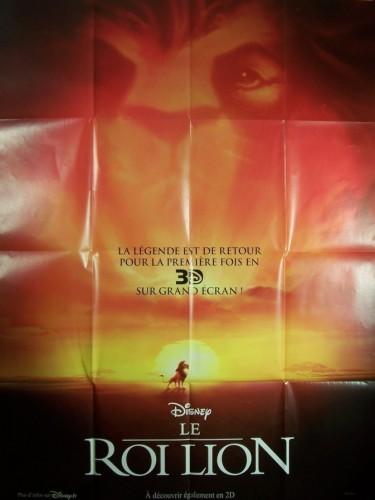 Affiche du film ROI LION 3D (LE)